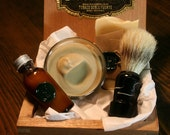Eco Friendly Shaving Kit with Beer Shaving Soap