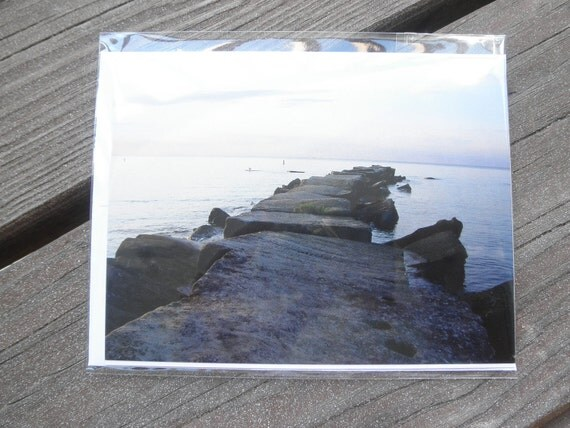 Lake Erie Sunset Note Card