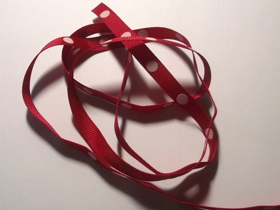 dotted red ribbon and - photo #36