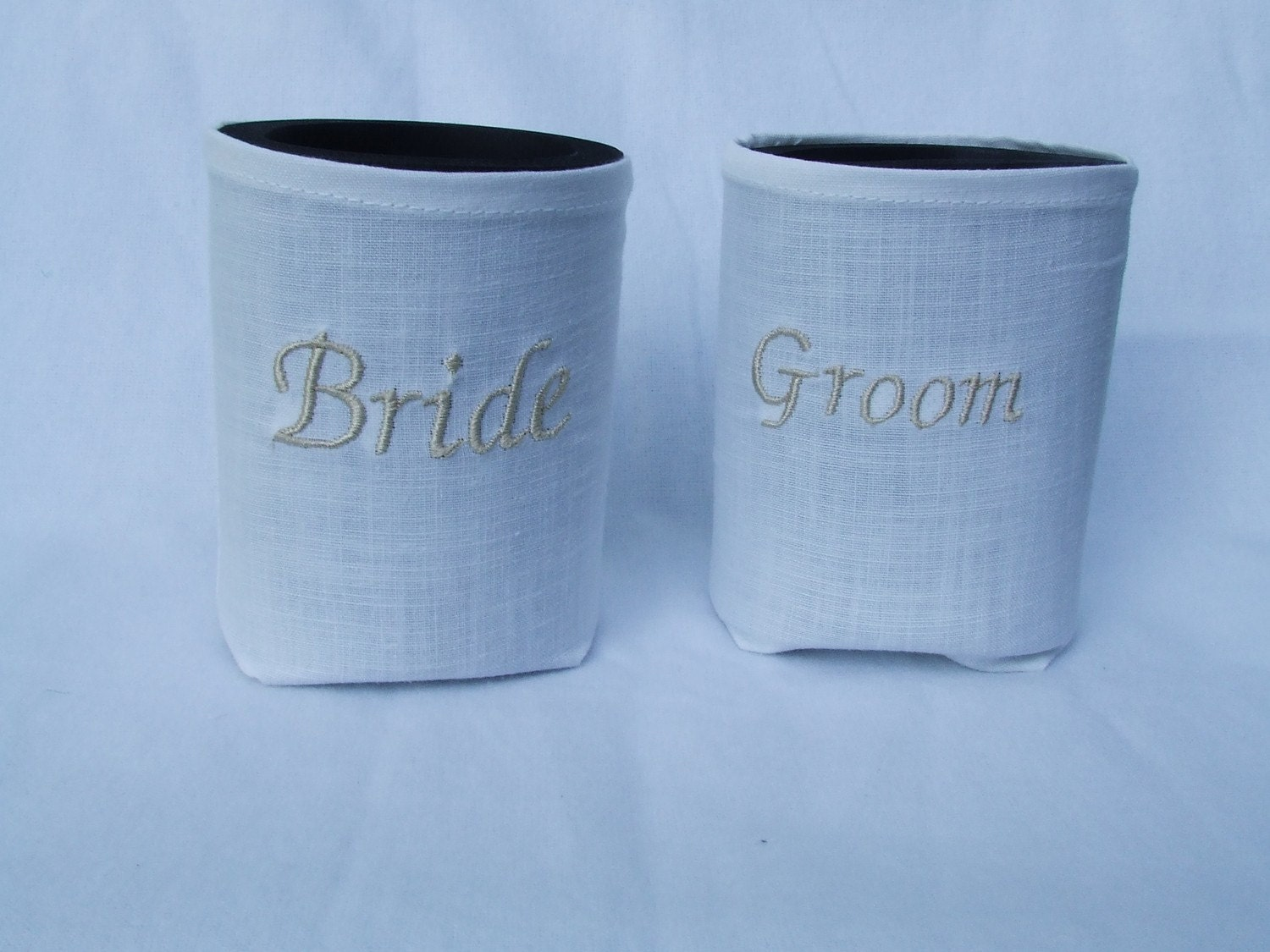 Wedding Reception Bride Amp Groom Drink Koozies