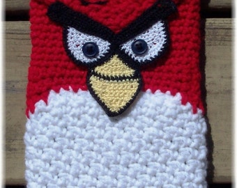 Silly Bird eReader Sleeve Crochet Pattern PDF - INSTANT DOWNLOAD.