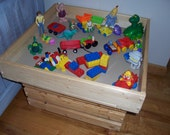 Play Table - Puzzle Table - Craft Table - Game Table - Train Table.