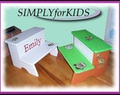 New  - our 2 step Personalized step stool.