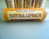 Luscious Lemon Lip Balm- All Natural- No Alcohol Added- great for severely dry lips