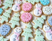Holiday Cookie Gift Box - FREE SHIPPING