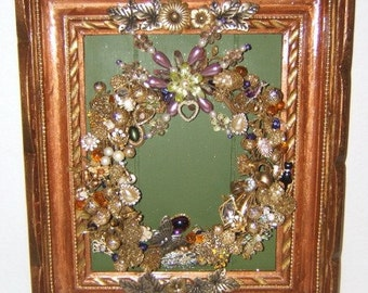 Vintage Jewelry Wall Decor