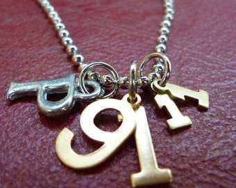 Psalm 91:11-Scripture necklace-For He Will Command His Angels