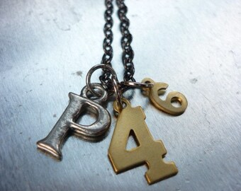 CHRISTIAN NECKLACE, Scripture necklace, Philippians 4:6-Do not be anxious about anything