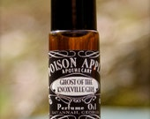 Roll On Perfume Oil 5ml Ghost of the Knoxville Girl, Fern, Moss, Fresh Water, Damp Rocks, Rose, Mountain Air by Poison Apple Apothecary