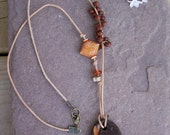 Brown Boho Necklace