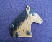 Buckskin the Horse with Knobs