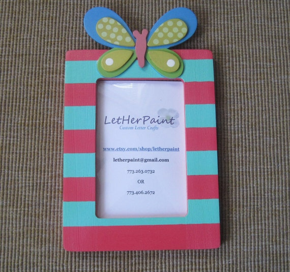 BLACK Friday.CYBER Monday 25% OFF Butterfly Personalized Picture Frame
