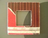 SALE PRICE - - Love Squared Frame Magnet