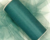 "5 yards - 3"" Hunter Green Tulle"