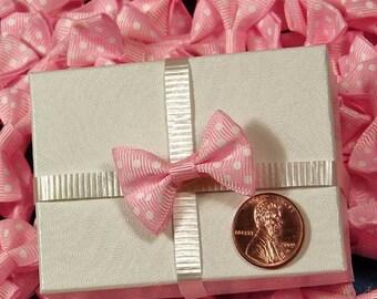 10 - Pink PolkaDot Bows