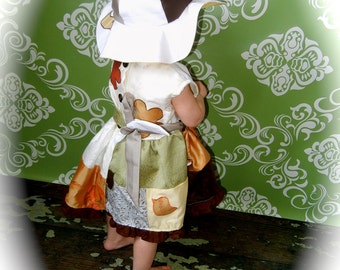 Madalyn's Lil Sis ONE OF A KIND ShabBy ChiC  Vintage Inspired Patchwork Girls Dress Flower Girl / Portraits more Size Premie-3T