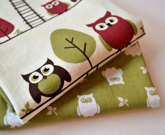 Owls and Ladders Fat Quarter Bundle