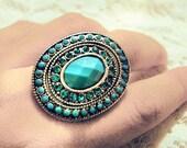 115.RESERVED-Vintage Ring