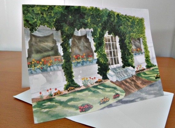 Ivy Covered - Blank Note Cards