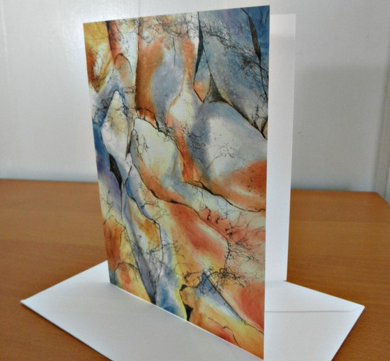 Rock Wall - Blank Note Cards