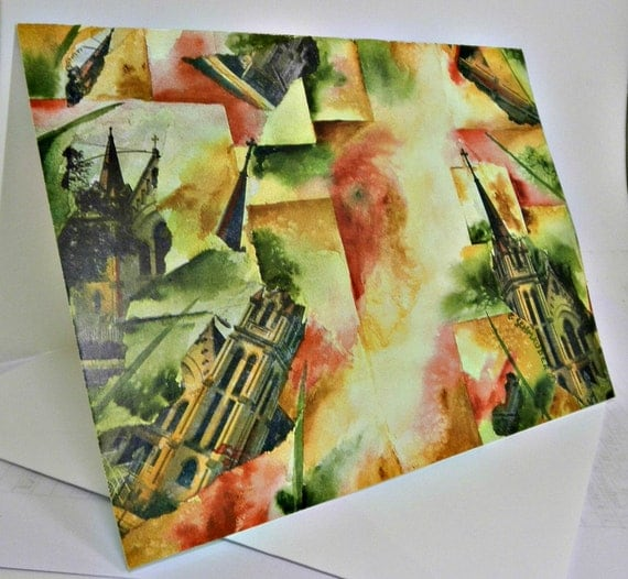 Unorganized Religion - Abstract Art - Blank Note Cards