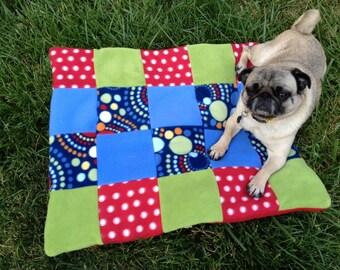 "CUSTOM 30"" Patchwork Dog Beds"