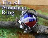 The All American Ring Urban Art Jewelry