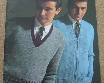 Quick Knits for Men pattern book