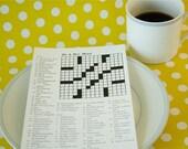 Custom Crossword Puzzles - Wedding, Showers, Anniversaries, and More