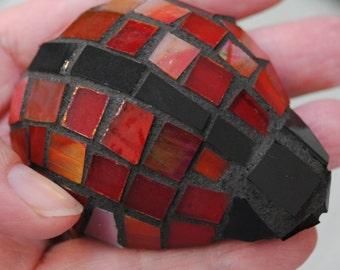 Teeny Tiny Mosaic Ladybug Garden Accents