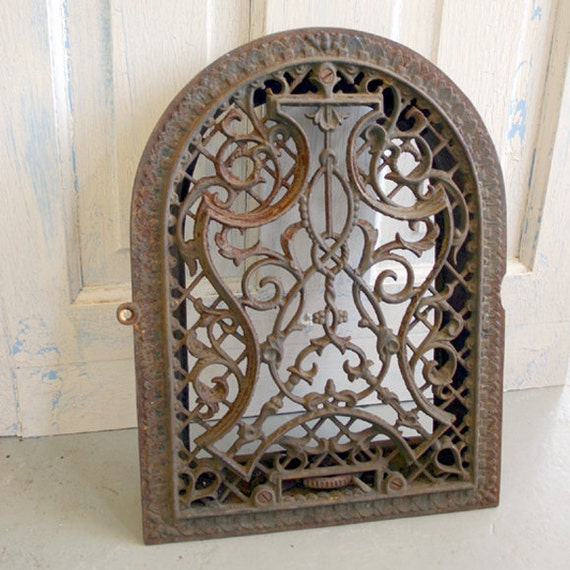Arch Architectural Salvage Heating Vent By Conceptfurnishings