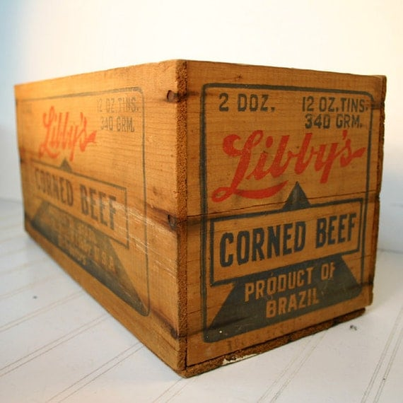 Industrial Wood Box or Shipping Crate