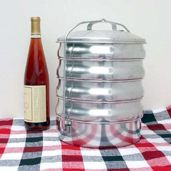 Aluminum Food Carrier / Picnic Set / Camping Set