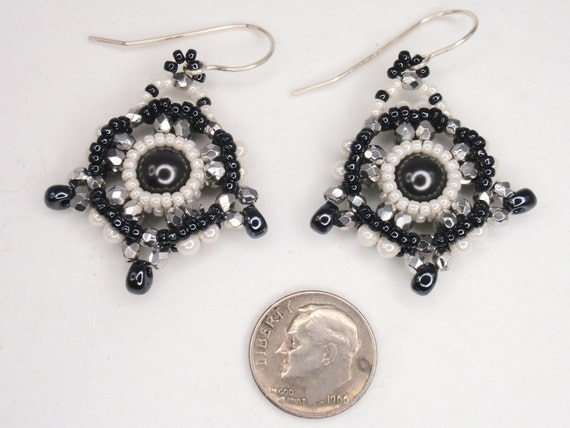 Beading Tutorial for Amelia's Compass Earrings