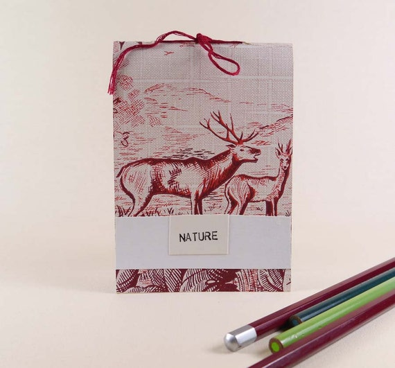 Vintage Paper Mini Notebook