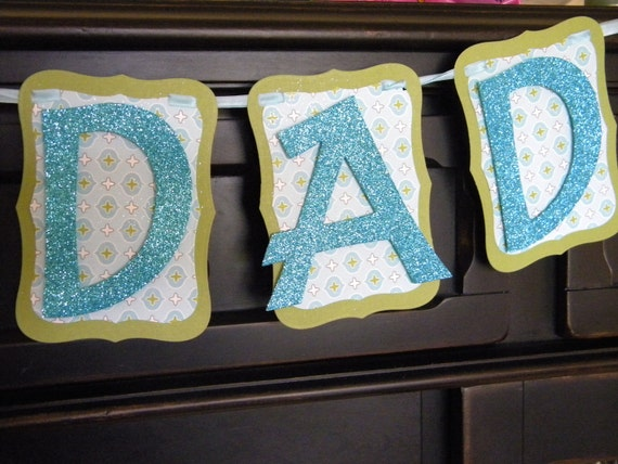 No.1 Dad Banner / Father's Day