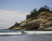 Sea Cave - Pacific City, Oregon