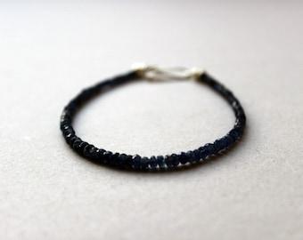 Sapphire Bracelet - Gift for Men