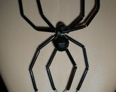Creepy SPIDER gothic/ dark fairy choker necklace