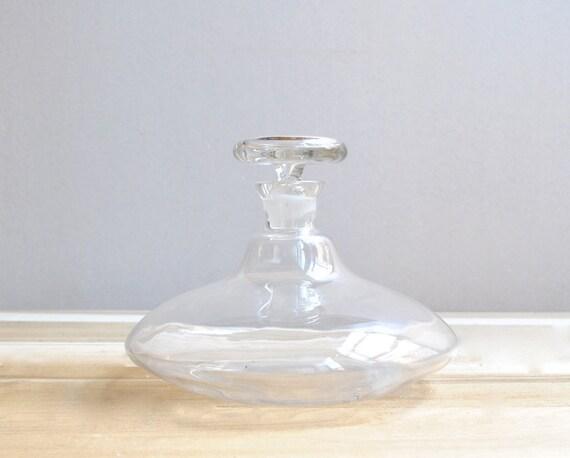 Hand Blown Glass Decanter