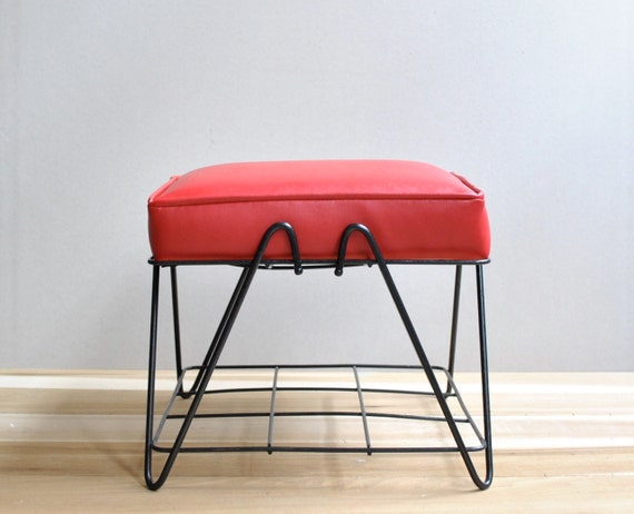 RESERVED FOR BRIAN Mid Century Ottoman
