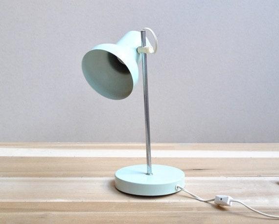 Seafoam Green Task Lamp