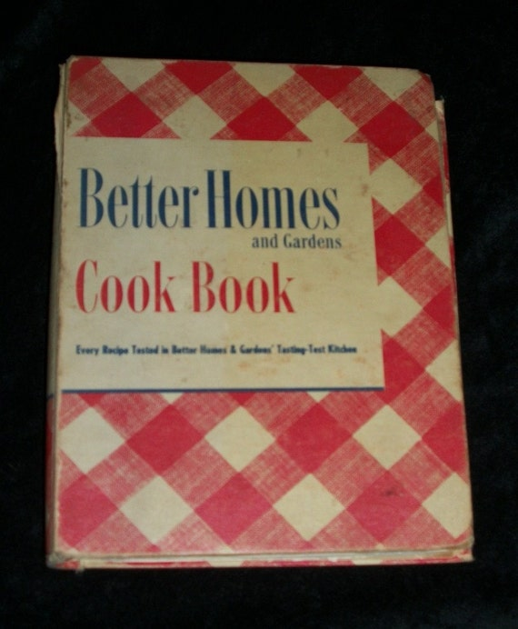 1940s Better Homes And Gardens Cookbook By Iprefervintage