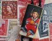 RESERVED for indiamike Lucky World Traveler Beaded Lanyard