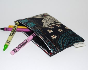 Reusable Snack Bag made with recycled fabric.