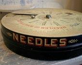 Antique Boye Needle Co. Store Fixture Case