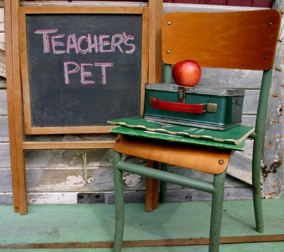 Vintage Easel Style Child's Chalkboard