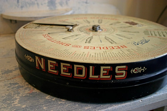 Antique Boye Needle Co. Store Fixture Case