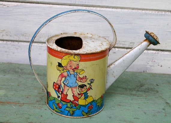 Adorable Ohio Art Toy Watering Can