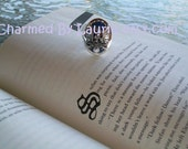 """Salvatore Eagle Family Crest Lapis Silver """"S or D"""" Ring- Pre Order On Sale"""